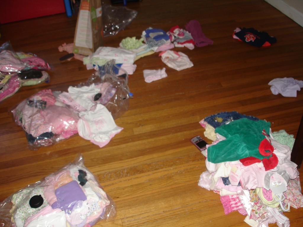 Clothes Piles