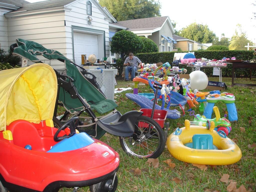 Yard Sale Loot