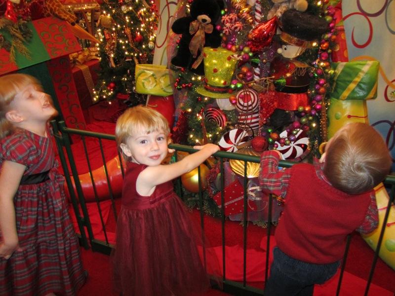 A trip to see Santa