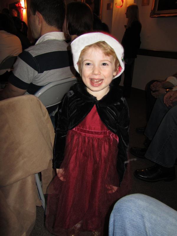 Christmas singer