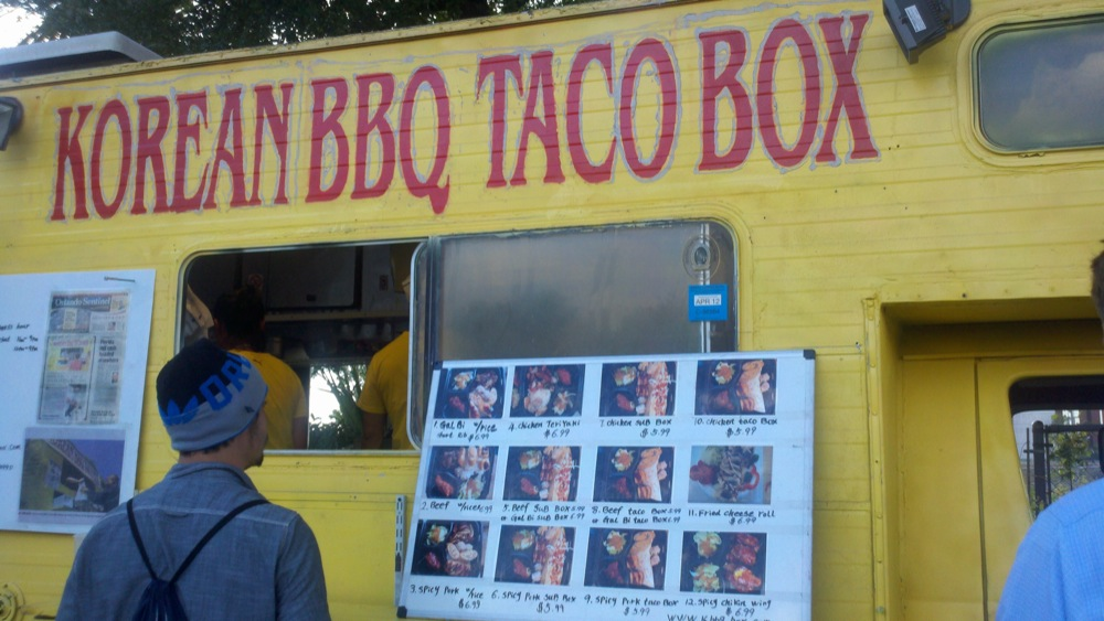 Korean BBQ Taco Box