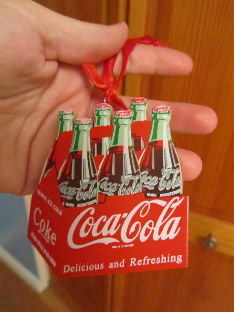 Coca-Cola ornament