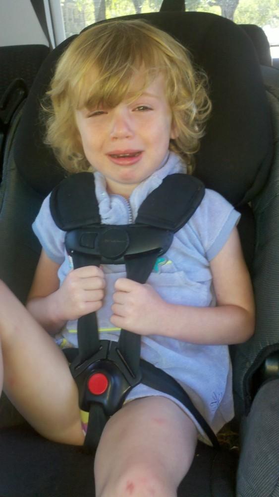 Car seat death grip