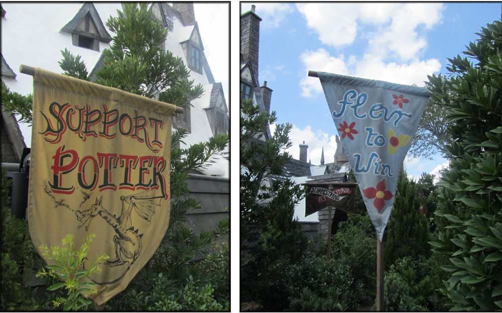 Triwizard Flags