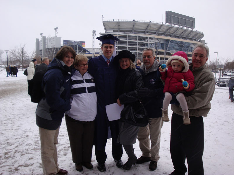 Graduation day at PSU