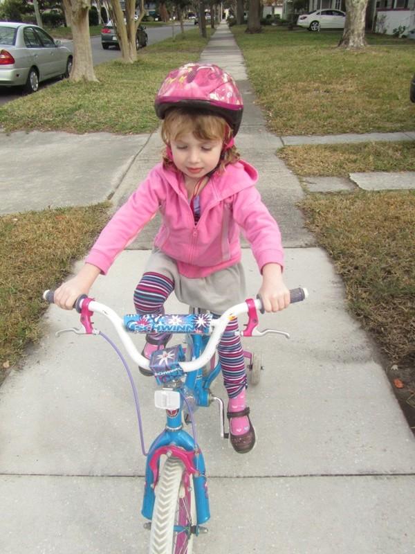 E's new bike