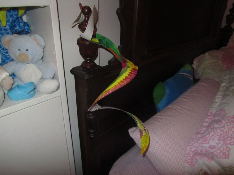 E's snake bed