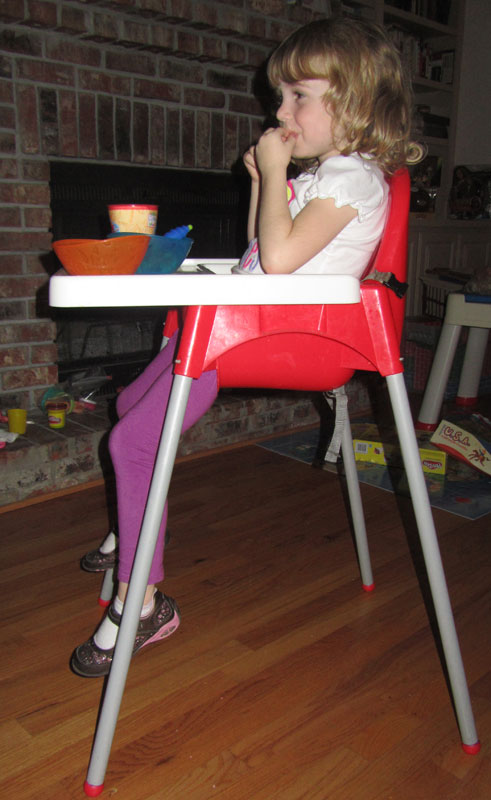 E-highchair