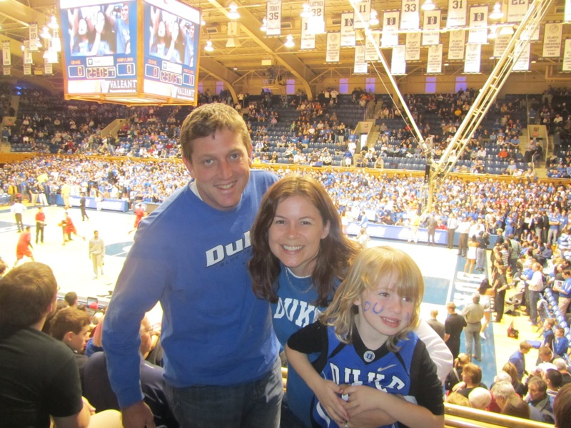 Duke v Md game