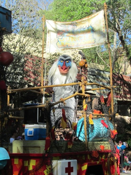 Animal Kingdom parade
