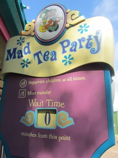Magic Kingdom: Mad Tea Party