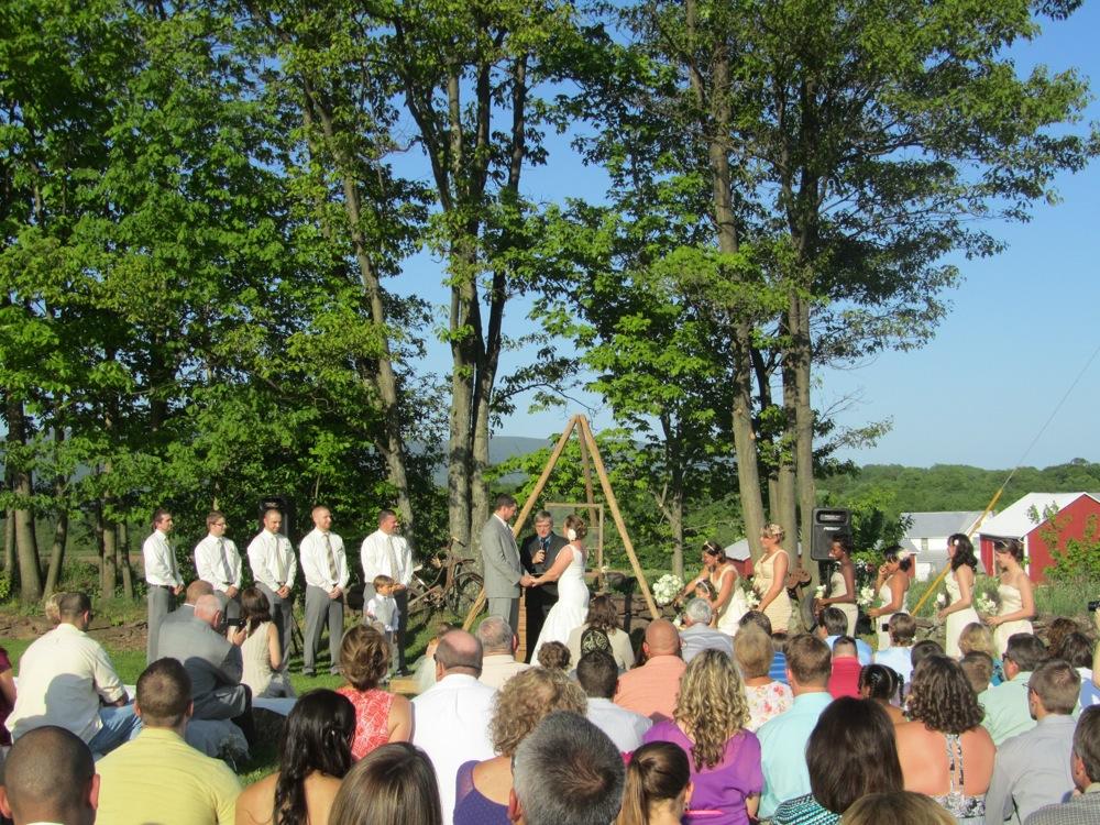 Pa. wedding