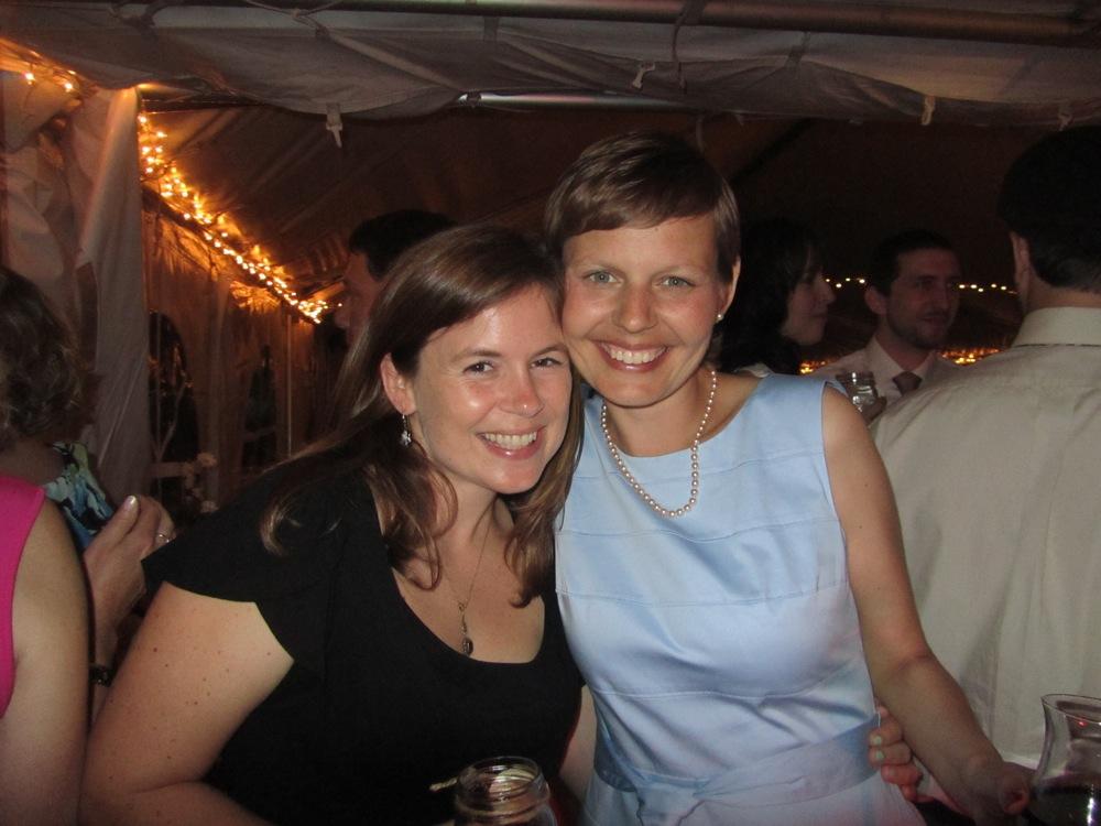 Jackie and Rachel