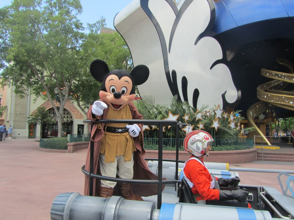 Star Wars Weekends: Jedi Mickey