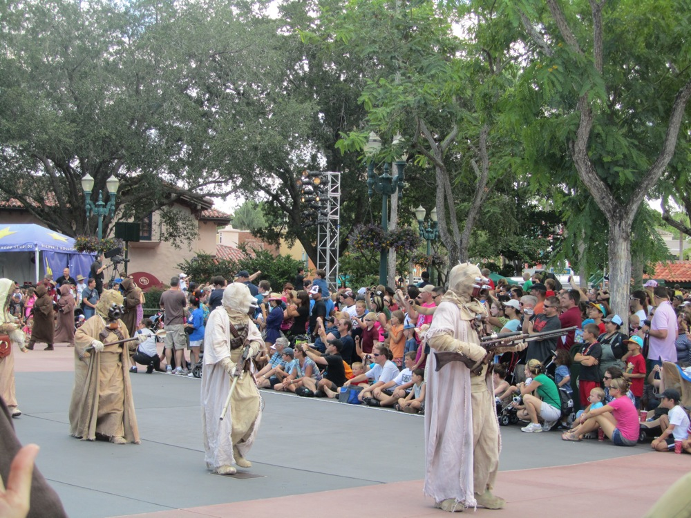 Star Wars Weekends: Tusken Raiders