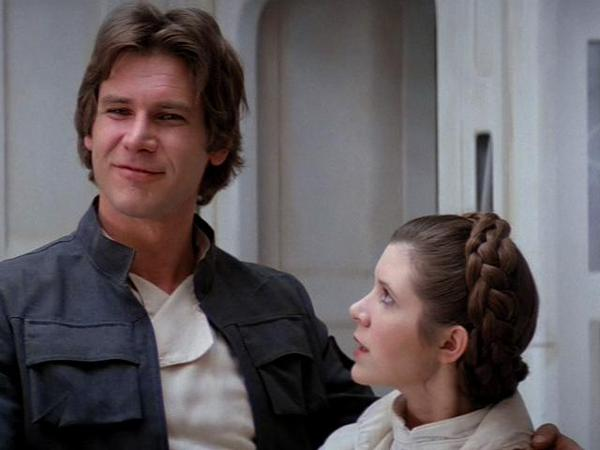 Han Solo, Princess Leia