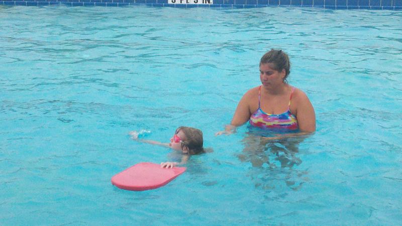 E swim lessons