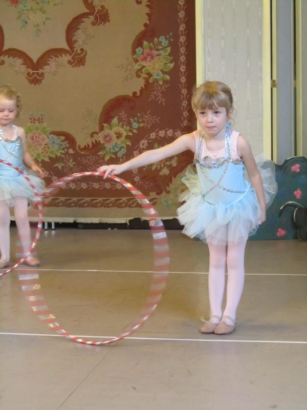 Ballet, hula hoops
