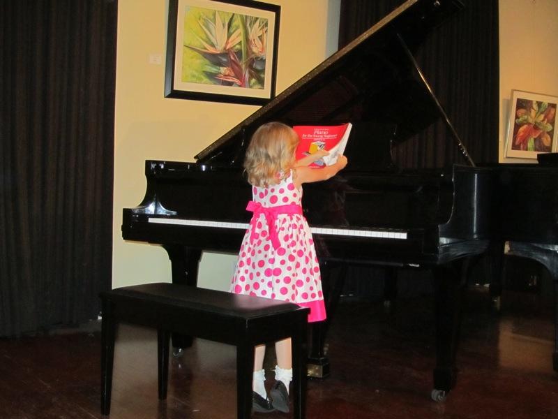 E. piano recital