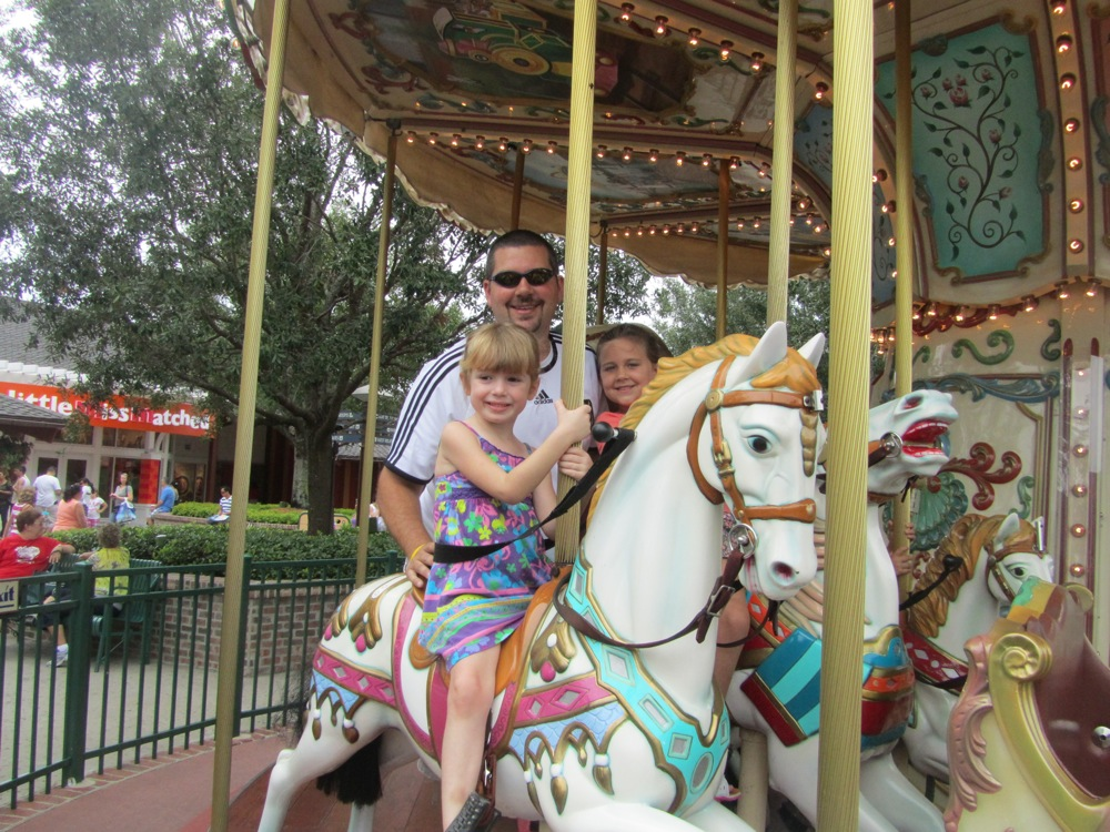 Downtown Disney carousel