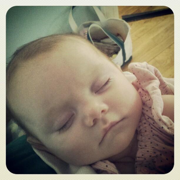 Baby C sleeps