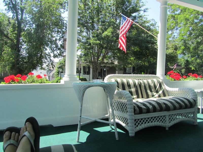 Edgartown Inn porch