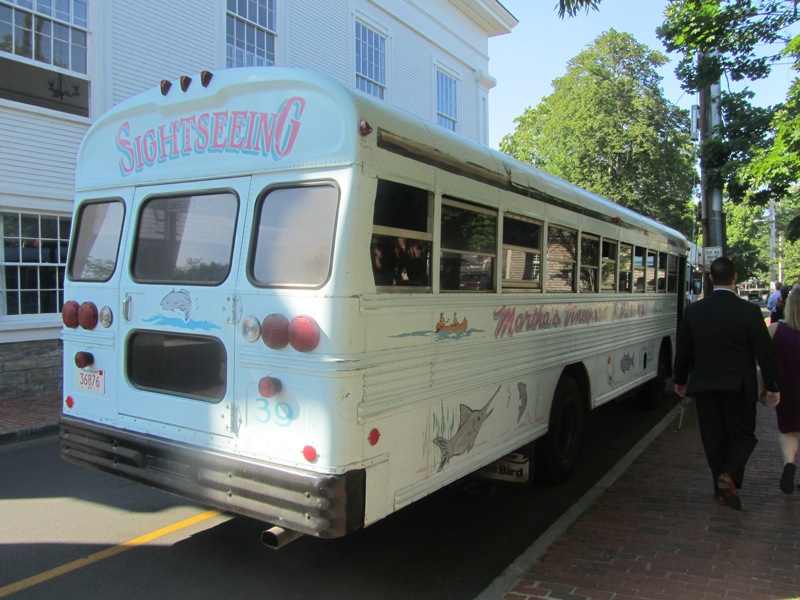 Martha's Vineyard bus