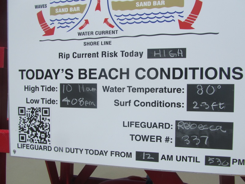 Lifeguard stand, Daytona