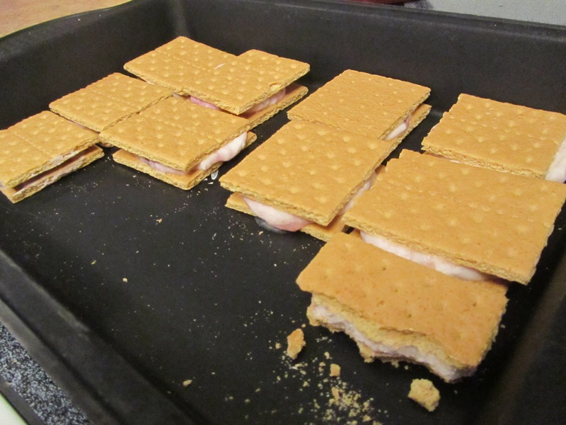 yogurt sandwiches