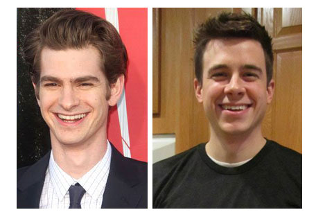 Andrew Garfield and my brother