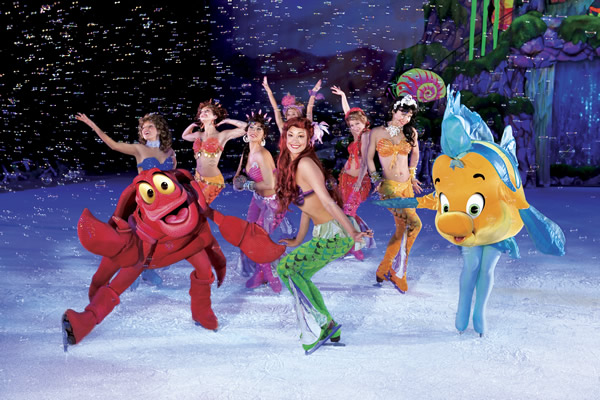 The Little Mermaid, Disney on Ice