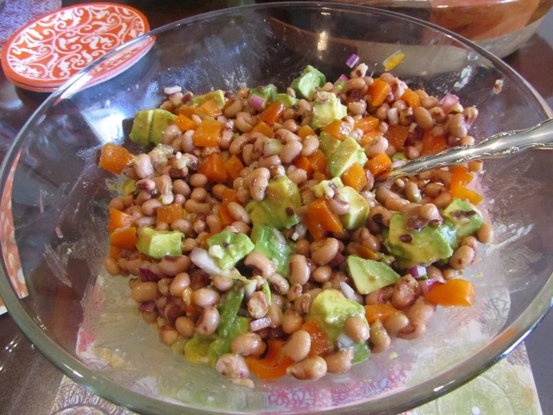 Szechuan Black-Eyed Pea Salad