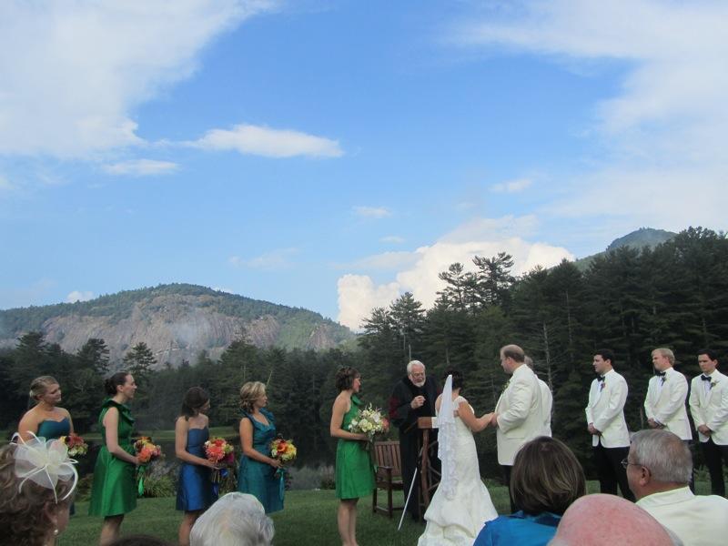High Hampton Inn wedding