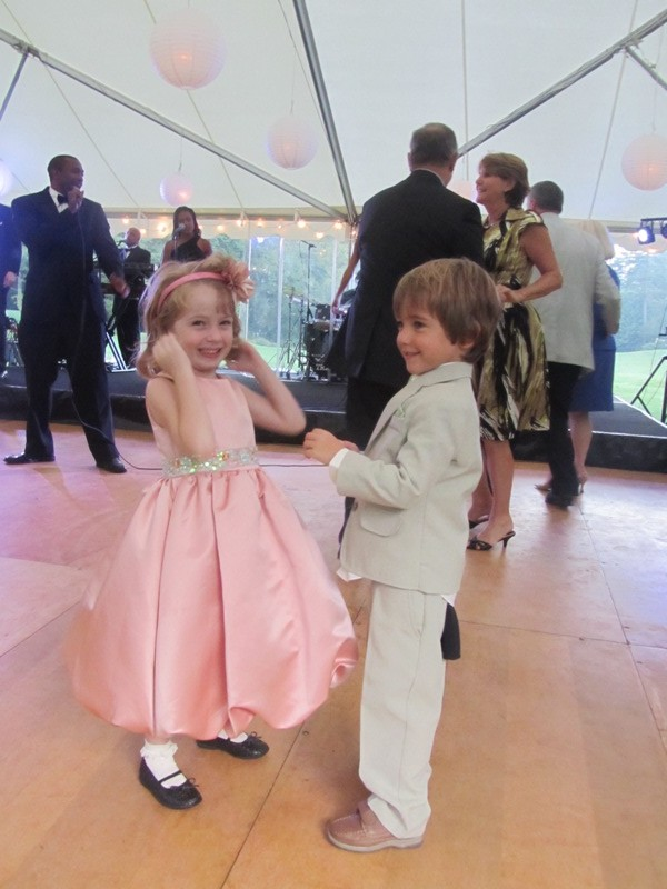 E and Z at wedding