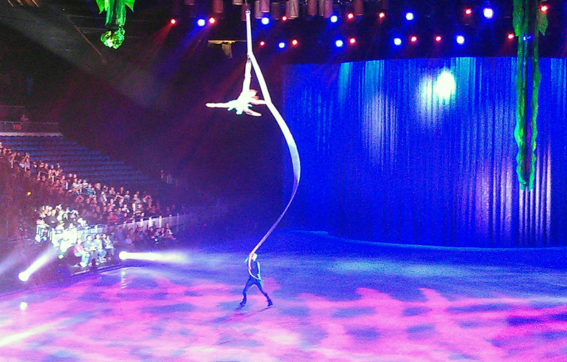 Aerial Ariel: Disney on Ice