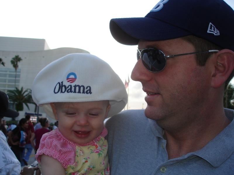 Hillary Obama Rally 2008