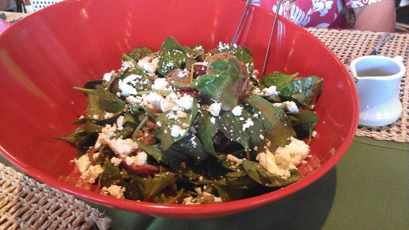 Wyndham Orlando: Spinach Salad