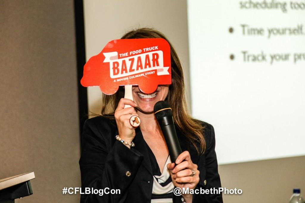 Rachelle at CFLBlogCon