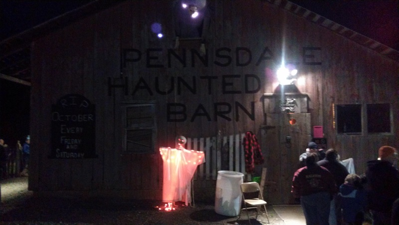 Pennsylvania-haunted barn