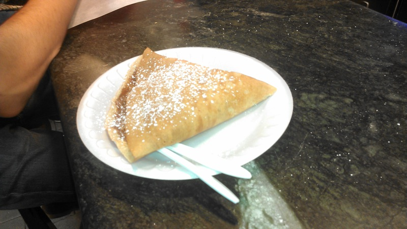 Crepe: Reading Terminal Market