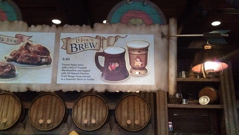 New Fantasyland: Gaston's Tavern
