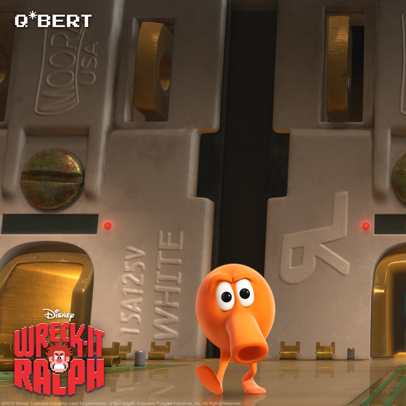 Q-Bert, Wreck-It Ralph