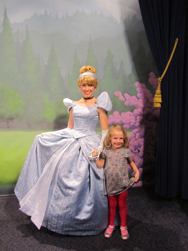 E and Cinderella, Dec. 2012