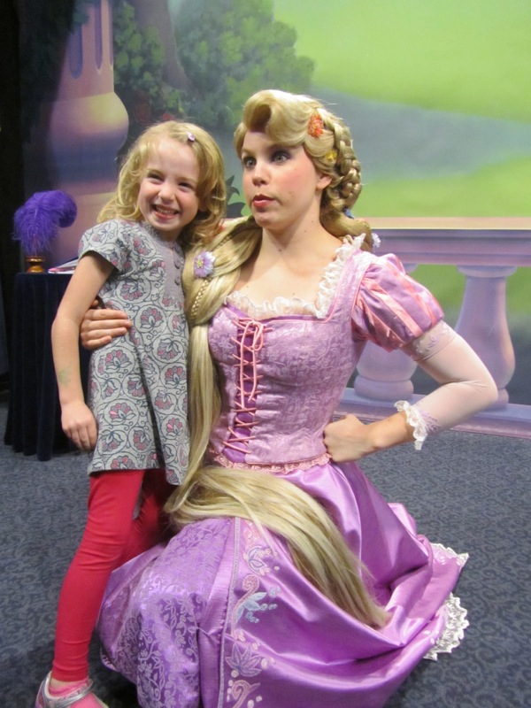 E and Rapunzel