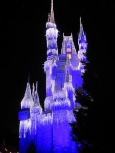 Cinderella's Castle, Dec. 2012