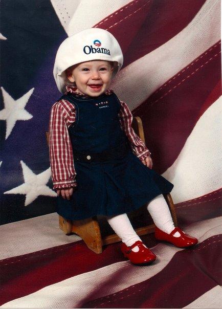 Obama baby 2008