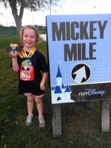 Mickey Mile - medal