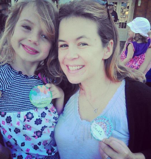 E and Me at Disney
