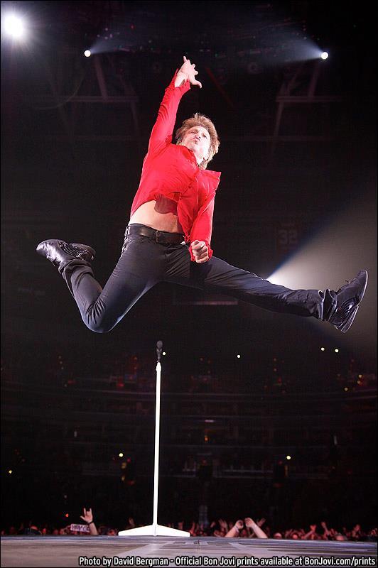 Bon Jovi, Photos by David Bergman, BonJovi.com/prints