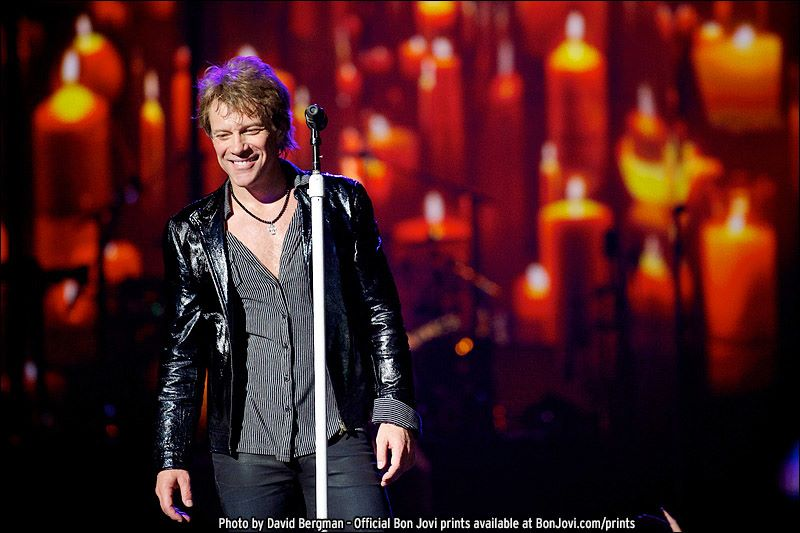 Bon Jovi, Tampa, Photo by David Bergman
